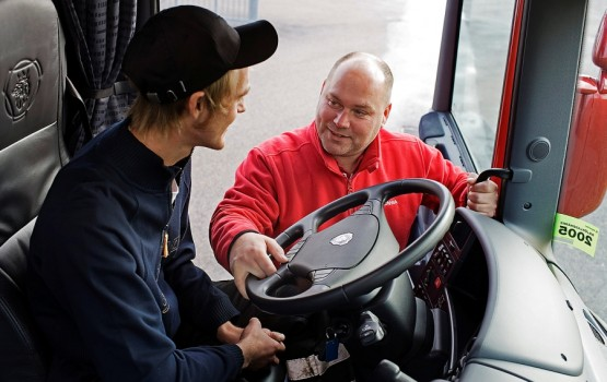Scania Driver Training Democentre, BorÂs, Sweden Photo: Gˆran Wink 2007
